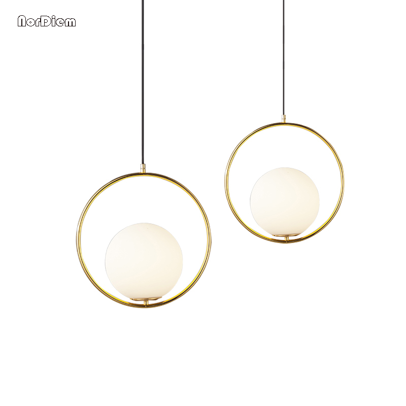 Modern Globe Pendant Lights Bar Restaurant Kitchen Fixtures Glass Ball Pendant Lamps Round Hang Lamp lamparas luminaire avize modern globe pendant lights black white color pendant lamps for bar restaurant hollow ball ceiling fixtures
