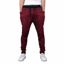 BFYL 8 Colors 2017 Unique Pocket Mens Joggers Cargo Men Pants Sweatpants Harem Pants Men Pants Men Pantalones Hombre
