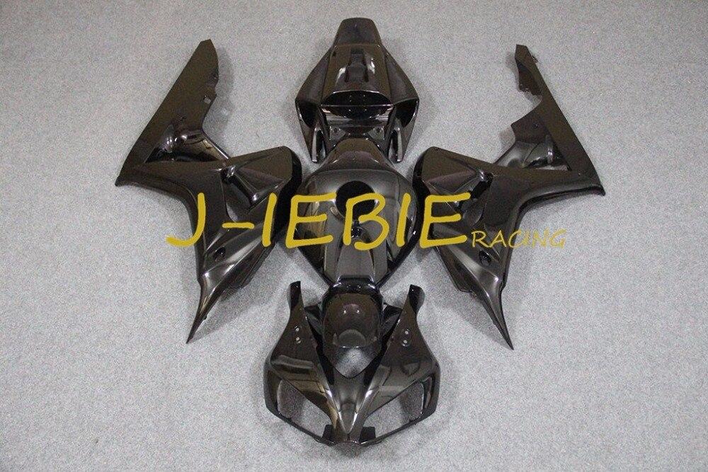 Black Injection Fairing Body Work Frame Kit for HONDA CBR1000RR CBR 1000 CBR1000 RR 2006 2007