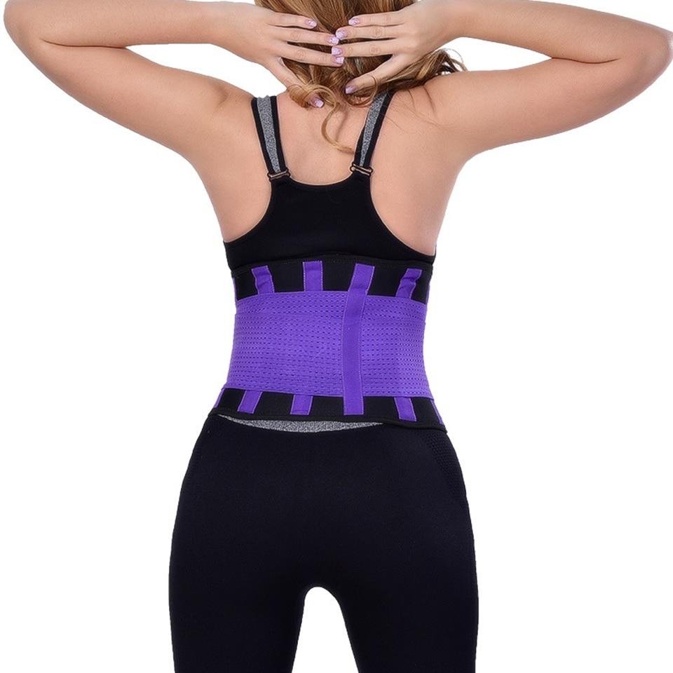 Women Waist Trainer Slimming Fitness Belt Hot Tummy Trimmer Waist Body Shaper