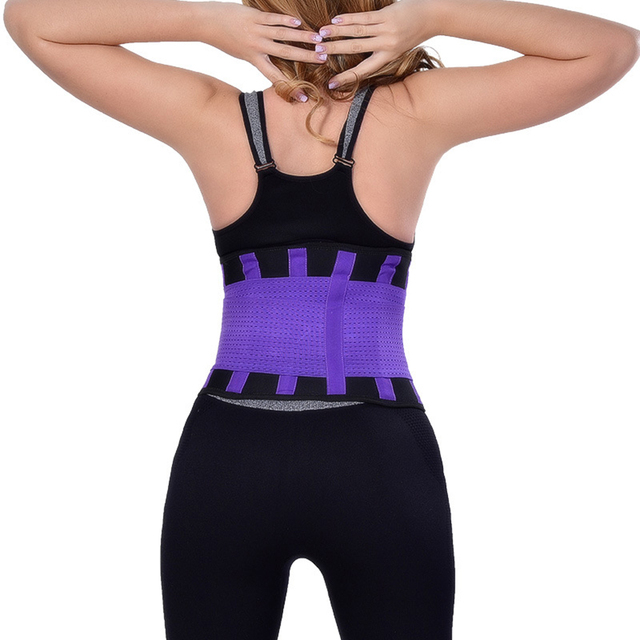 Women Posture Corrector Belt Hot Slimming Body Shaper Waist Trainer Trimmer Fitness Corset Tummy Control Shapewear Stomach 1