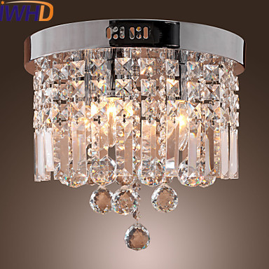 con techo Lámpara De techo Comparar luz Cristal moderna rxoEdCeBWQ