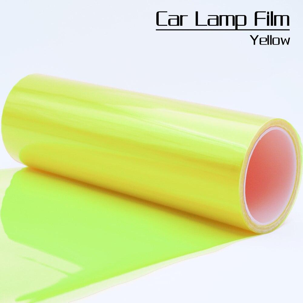 Один рулон фары автомобиля оттенок защитная пленка фольга 0.3*10м рулон, пригодный для всех моделей автомобилей