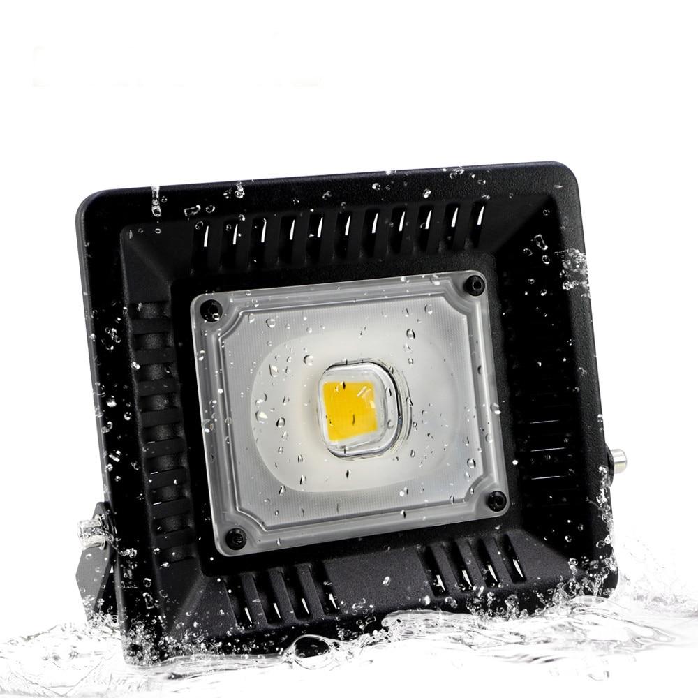 30W 50W 100W vattentät COB ledd strålkastare led Spotlight Vägg tvättare ljus Reflektor Vattentät utomhus Garden Street