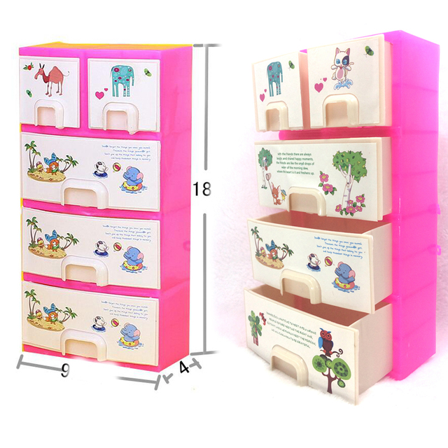 NK One Set Doll Accessories Baby Toys New printing Closet Wardrobe ...