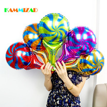 Small Hand Bat Balloons Windmill Candy Multi Color Crazy Night Birthday Party Sporting Inflatable Aluminium Foil Globos Supplies