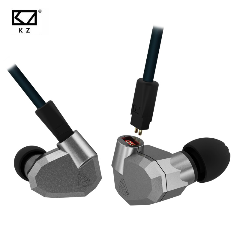 Original KZ ZS5 HIFI Earphones 2DD+2BA Hybrid In Ear DJ Monito Super Bass Earplug Headsets Stereo Surround Earbuds For iPhone