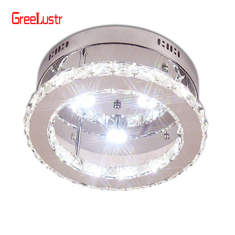 Modern LED Crystal Chandelier Lighting Mirror Chandeliers Ceiling Lamp For Kitchen Luminaire Home Decor Light Fixture Lusters