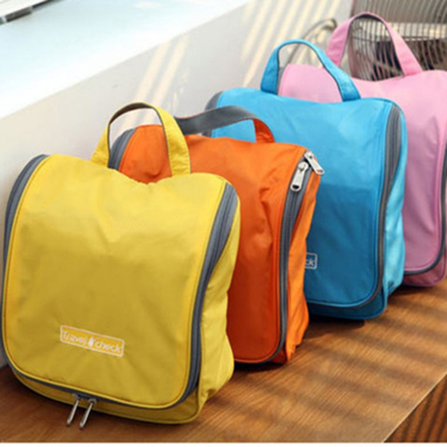 Cosmetic bags Toilet Kit / Wash bag Make up Bags Hanging Purse Storage Sorting bags in bar Travel Cosmetic Cases