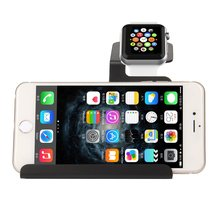 Aluminum Charging Charger Dock Station Holder Stand For iWatch for iPhone for Tablet Free Shipping