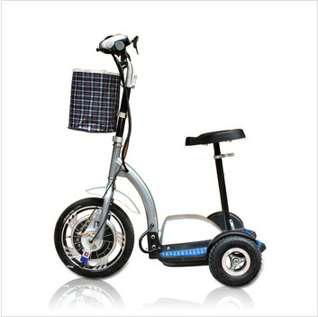 3 Wheel 36v Electric Bicycle Battery Car Scooter Mini Folding