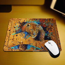 Mairuige Small Size Animals Leopard Mouse Pad Mice Mat for Improve Mouse Speed Pc Computer Non-slip Wear Rubber Mice Table Mat