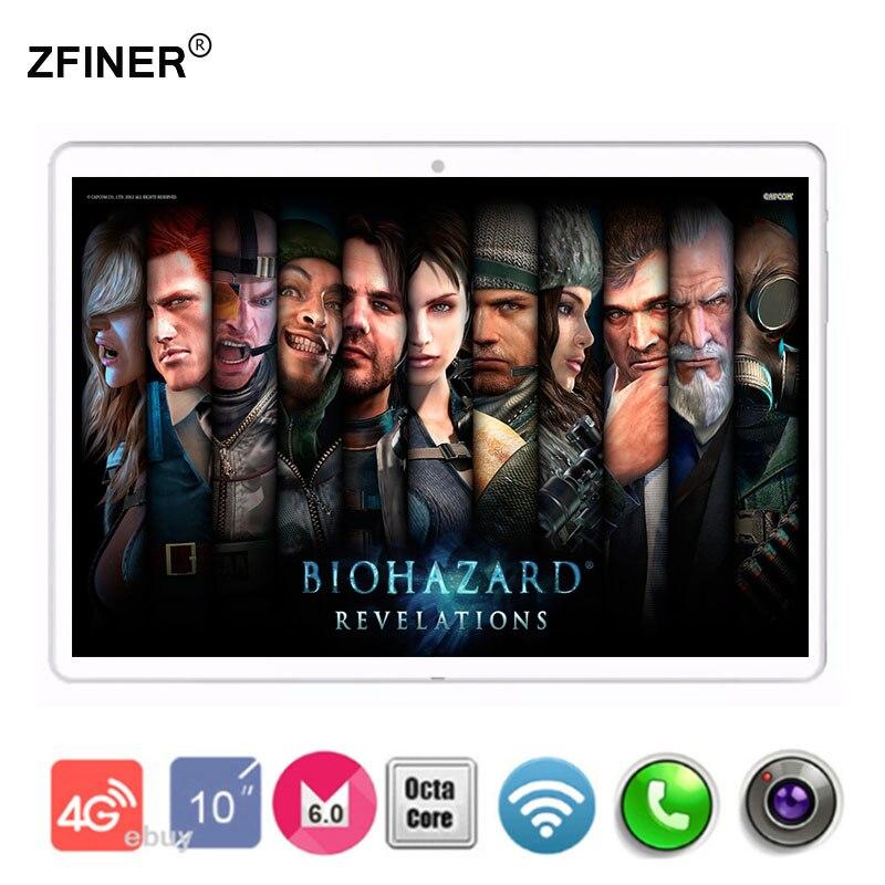 bilder für Heiße Neue 10 zoll Tabletten Android 6.0 Octa-core 64 GB ROM Dual kamera und Dual SIM Tablet PC OTG WIFI GPS 4G LTE telefon S108