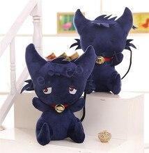 Servamp Сонный Золы Cos Черный Кот Творческий Плюшевые PP Хлопок Мягкие Игрушки Куклы