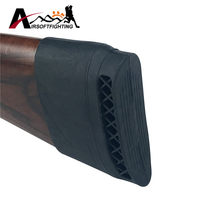 1 pcs Hunting Rifle Karet Recoil Pad Slip-On Ekstensi Shotgun Shotgun Buttstock Shooting Gun Butt Pelindung Karet(China)