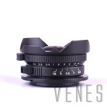 8mm F3.8 Balık gözü CCTV Lens Takım Mikro Dört Üçte birlik Için Kamera