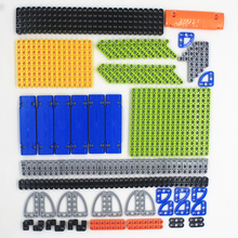 HOT 195pcs model building blocks toy boy parts technic
