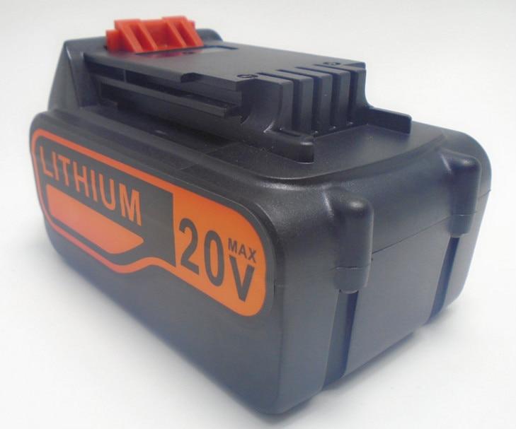 20V Li-ion 4500mah  Power Tool Battery for Black&Decker A1518L, LB018-OPE, A1118L HP188 HP186 Free Shipping laptop battery for asus x552 x552cl x552e x552ea x552ep x552l x552ld x552vl x552la 15v 2950mah 44wh li ion oem