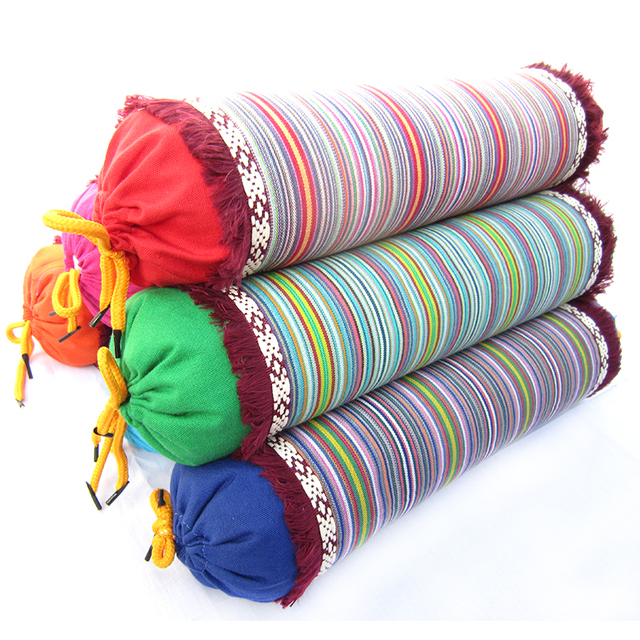 Boho Style Tube Shaped Pillow 2