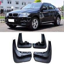 OEM Стиль Брызговики подходят для BMW X6 E71 2008 2009 2010 2011 2012- брызговики Брызговики переднее заднее крыло аксессуары литые