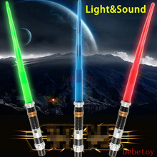 Kids Toys Action Figure Weapons Stares Wared Lightsaber with Light Sound Led Blue Saber Darth Vader Jedi laser Sword Toy