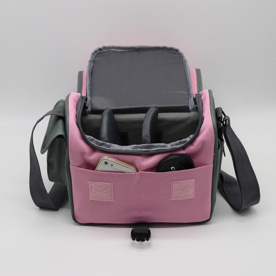 DSLR Photography Travel Shoulder Messenger Bag Camera Case For Pentax Olympus Panasonic Canon Nikon D3100 Sony A7 A77 A7R2 Fuji