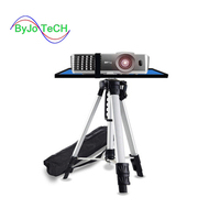 ByJoTeCH Adjustable Portable Projector tripod 120cm Mount Stand tray