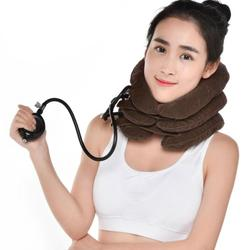1Pc Inflatable Neck Massage Pillow Healthcare Neck Relaxation Cervical Device Traction Drop Collar Therapy Pain Relief