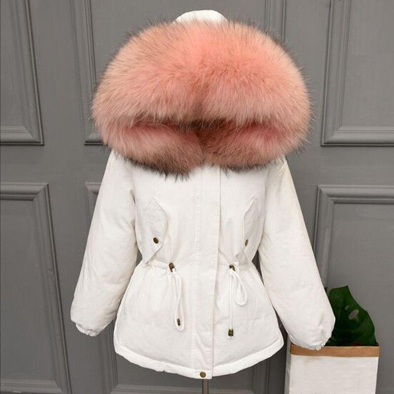 Warm Warm Winter Coat ผู้หญิง Oversize 2019 ขนาดใหญ่ธรรมชาติขนเป็ดสีขาวลง Parka Hooded Outerwear ฤดูหนาวแจ็คเก็ตผู้หญิง-ใน เสื้อโค้ทดาวน์ จาก เสื้อผ้าสตรี บน AliExpress - 11.11_สิบเอ็ด สิบเอ็ดวันคนโสด 1