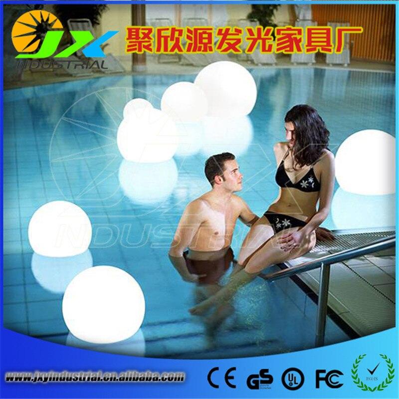 D25cm magique RGB led boule diamètre extérieur 25 cm sphère rougeoyante étanche piscine couleur changeante boule pour noël par DHL FEDEX