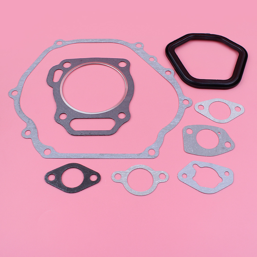 Crankcase Cylinder Carburetor Valve Intake Gasket Set For Honda GX390 GX340 13HP 11HP GX 390 340 Chinese 188F Engine Motor Part