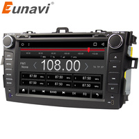 Eunavi 8 Inch 2 Din Android 7 1 Car Dvd Player Gps For Toyota Corolla 2007