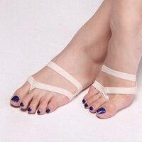 New 2016 Heel Protector Professional Ballet Dance Socks 1 Pair Belly Dance Foot Thong Toe Pad