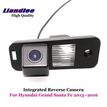 Liandlee For Hyundai Grand Santa Fe 2013~2016 Car Rear View Backup Parking Camera Rearview Reverse / SONY CCD Integrated