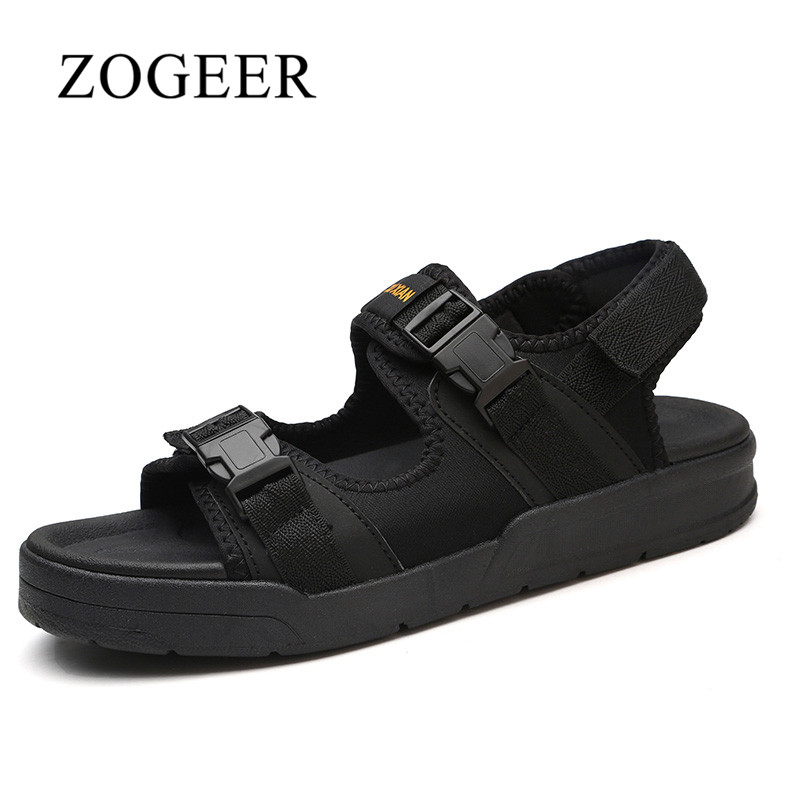 ZOGEER Fashion Mens Sandals, Size 35-45 Summer Couple Beach Shoes, 2018 Hot Sale Mens Beach Sandals