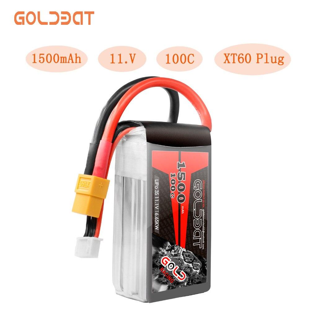 GOLDBAT 1500mAh FPV Lipo batería 3S 11,1 V Lipo 3S Lipo batería para Drone 100C Softcase con enchufe XT60 para avión FPV 1 Pza 3S 40A Li-ion cargador de batería de litio Placa de protección PCB BMS para Motor de perforación 11,1 V 12,6 V Módulo de célula Lipo equilibrio mejorado
