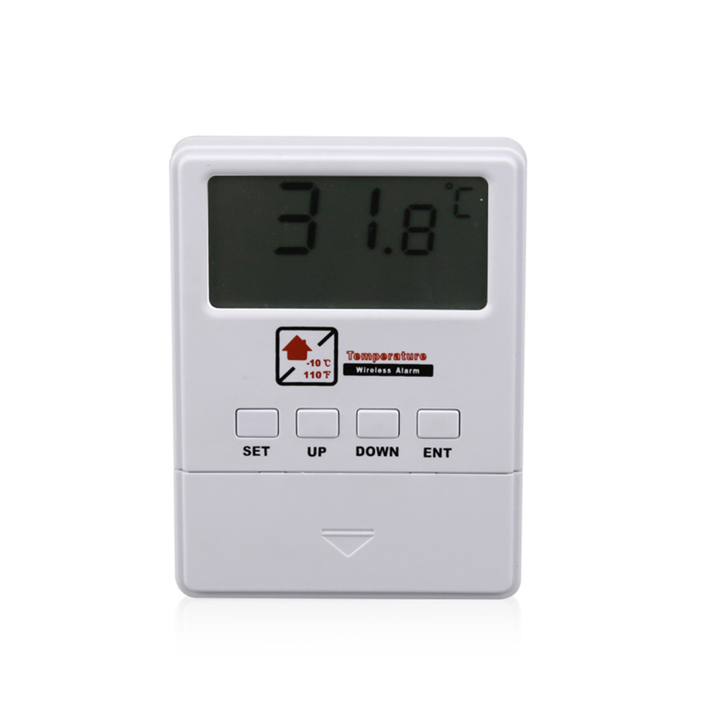 Wireless Temperature Detector 433Mhz Sensor Alarm Support High & Low Temperature Alarm For Our Home Alarm System