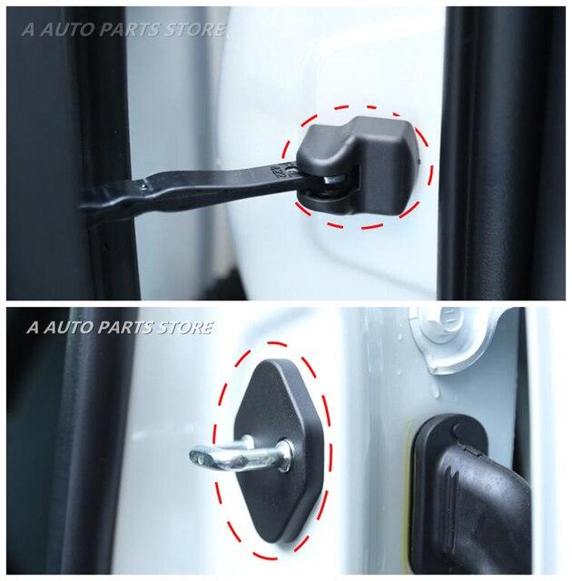 Отделка дверного замка автомобиля, крышка контрольный рычаг двери Защитный чехол для Nissan Qashqai J11 2014 2015 2016 2017 2018