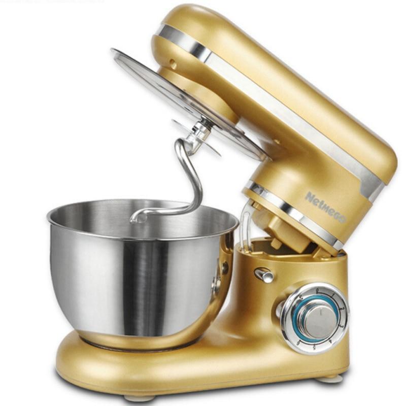 wanhe adonan mixer food processor telur kue dapur listrik berdiri makanan listrik multifungsi memasak