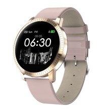 """696 CF18 Смарт-часы 1,2"""" ips IP67 водонепроницаемое закаленное стекло монитор сердечного ритма кровяное давление кислородные Смарт-часы PK H2 H1"""