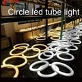 Fundição de Alumínio círculo G10Q T10 tubo do diodo emissor de luz AC85-265V 11 W led circular tubo fluorescente 3 anos frete grátis garantia