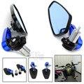 Acessórios da motocicleta vista traseira espelho lateral dobrável universal para yamaha yzf R125 R15 R25 125 15 25 r mt-07 mt-09 mt 07 09