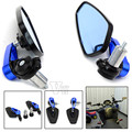Universal Motorcycle accessories Foldable  Rear View Side Mirror For yamaha YZF R125 R15 R25 r 125 15 25 mt-07 mt-09 mt 07 09