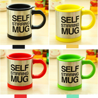 1 Pc Creative Stainless Self Stirring Mugs Coffee Cup Mixing Auto Electric Without Batteries Lazy Send To Friends Gift Hot Sales