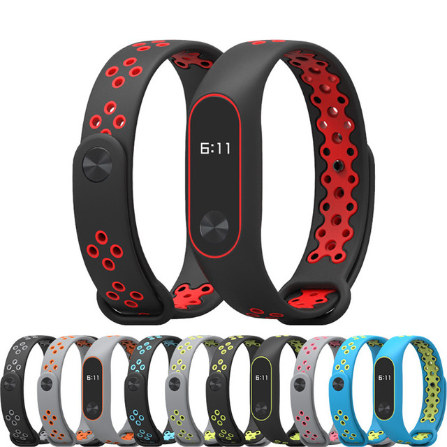 For XIAOMI MI Band 2 Durable Replacement TPU Anti-off Wristband Sports Bracelet