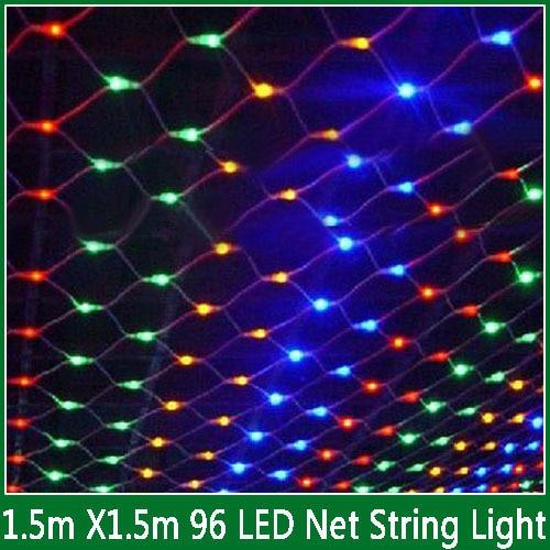 Garland String 3 * 2 M Netto String Licht 200led Mesh Fairy Lights - LED-Verlichting - Foto 3