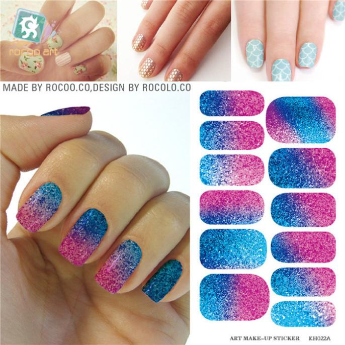 Slider Designs For Nails Nail Art Water Decals Adhesive Foil Patch