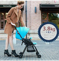 Portable light stroller children's baby stroller baby car