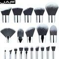 Varejo jaf personalizado maquiagem jogo de escova sintético diy make up kit escova fundação escova fã escovas da sombra da sombra de olho