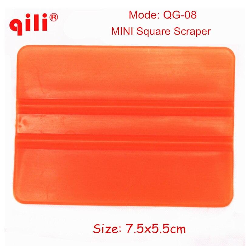 1000pcs lot QILI QG 08 Super Mini Film Scraper Tools Squeegee Plastic Vinyl Car Wrap Tools
